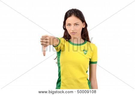 Thumbs down for Brazil.