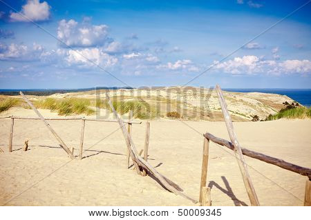 Reserve Curonian Spit In Lithuania