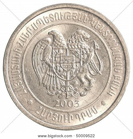 100 Armenian Dollars Coin