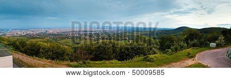 Panorama Of Vienna City