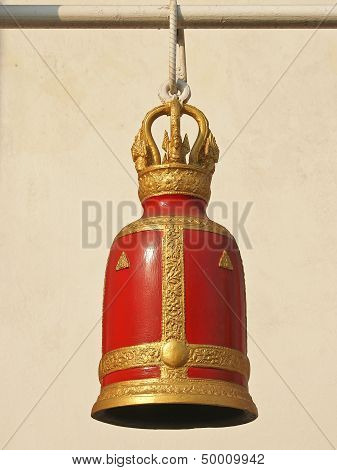 Red Ancient Bell