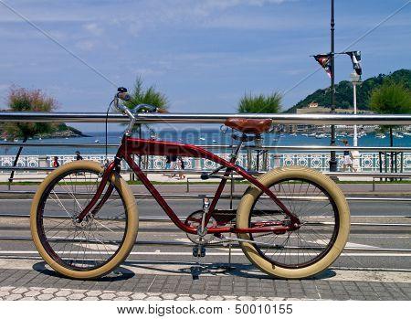 Bike in San Sebastian