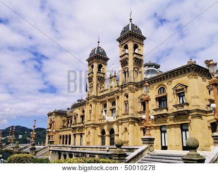 City Hall In San Sebastian