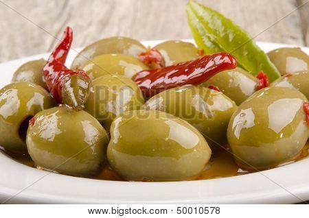 Spanish Olive And Chili