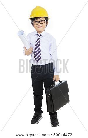 Business Child Constructor - Isolated
