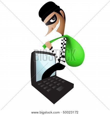 Thief Through The Internet