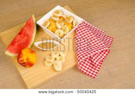 Healthy Breakfast Sttill Life
