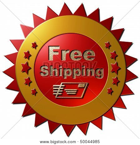 Free shipping (red)