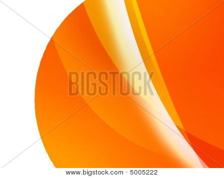 Orange Planet Background