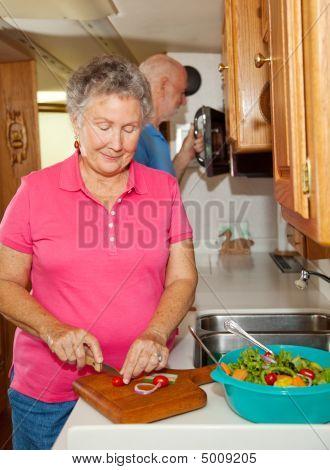 Seniors Rv - Cooking