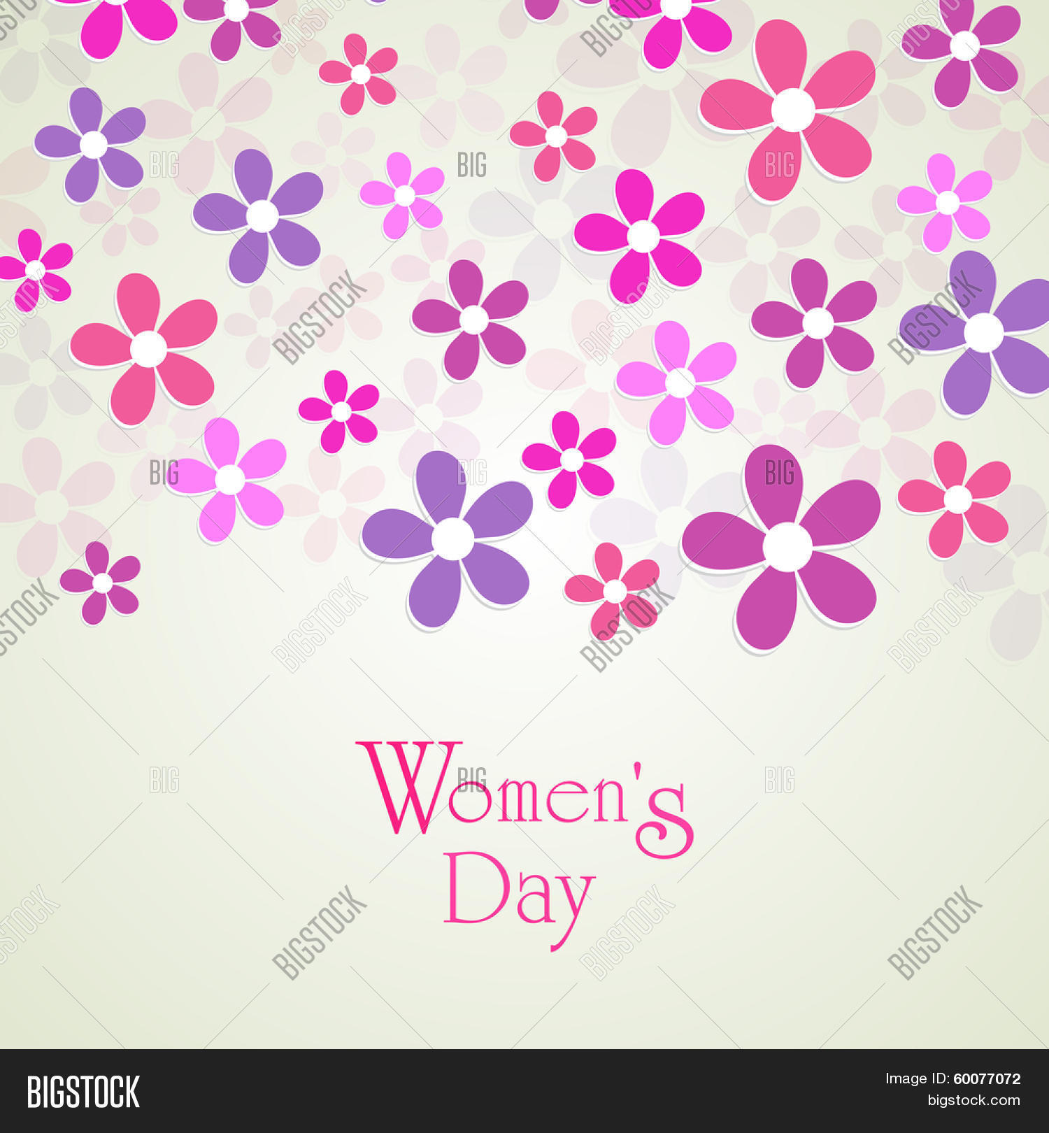 Happy Womens Day Vector Photo Free Trial Bigstock