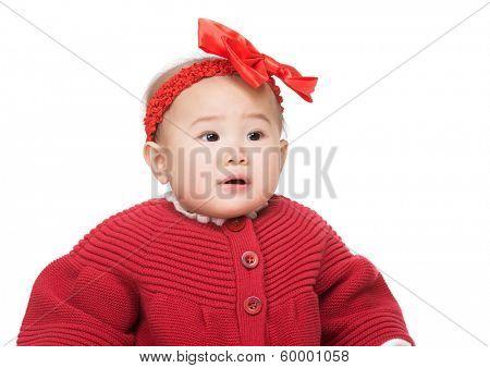 Asian baby girl