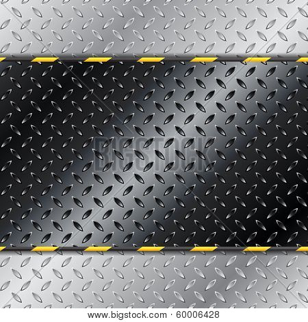 Abstract Customizable Metallic Background