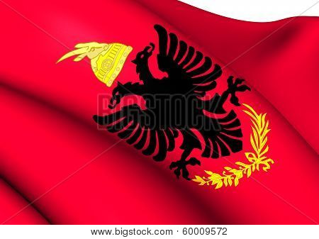 Royal Albanian Army Flag
