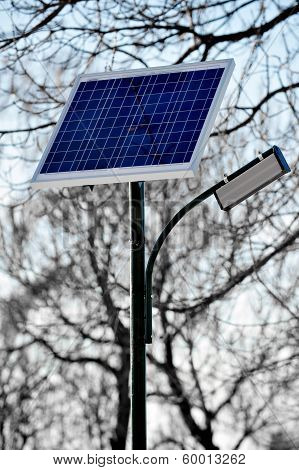 Public Lightning Photovoltaic Panel