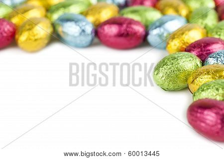 Chocolate Eggs Frame