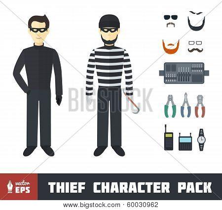 Thief Character Set