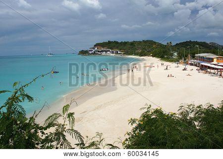 Beach, Antigua and Barbuda, Caribbean