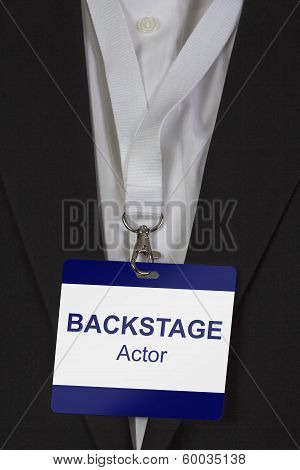 Backstage Actor Pass