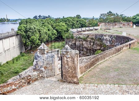 Fortress Ruins at Dominican Republic