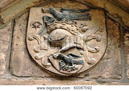 The Medieval Blazon Of The Hunyadi (corvin) Royal Family