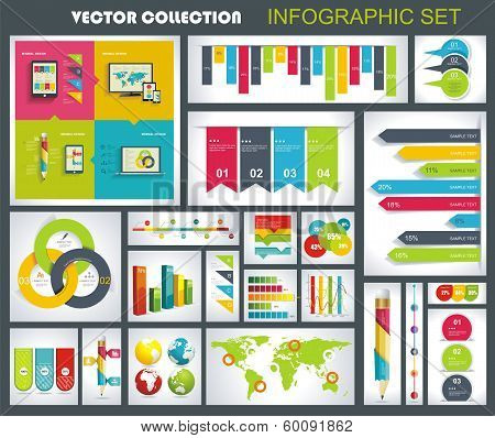 Collection Of Quality Infographics Design.
