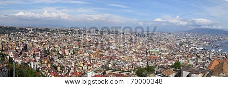 Panorama Of Naples.