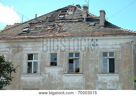 Devastated Building