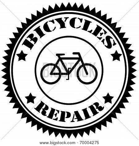 Bicycles Repair-stamp