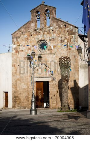Sardinia.Church Facade/