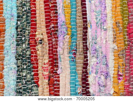 fabric patchwork background
