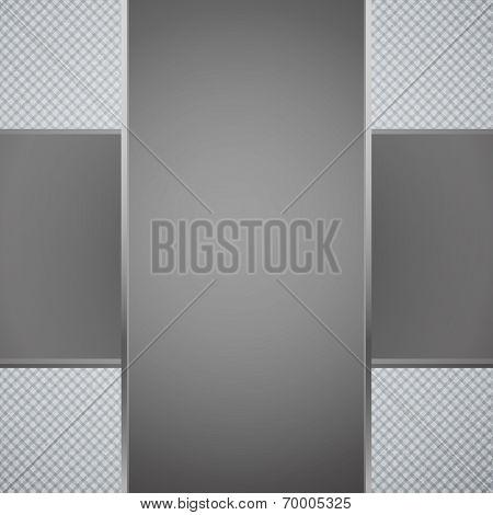 Cross paper card. Business card template
