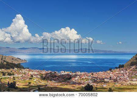 Titicaca Lake in Bolivia