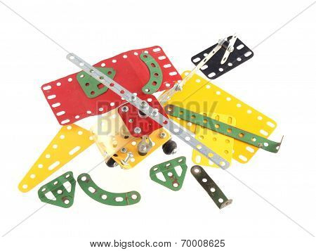 Components Used To Construct Model Toys.
