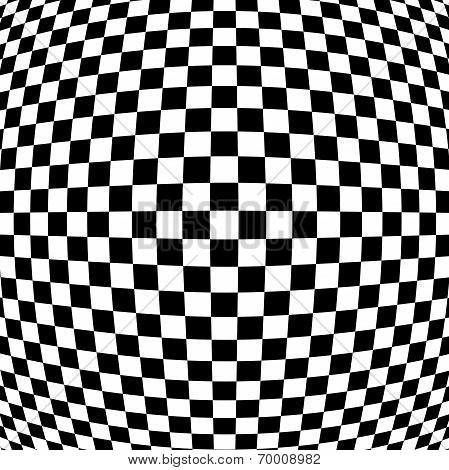 Abstract Black - White Geometric Background.