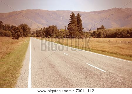 Road In New Zealand