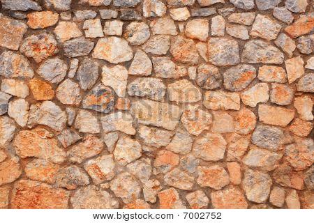 Stone Wall. Texture.