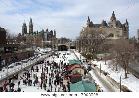 Winterlude Festival in Ottawa