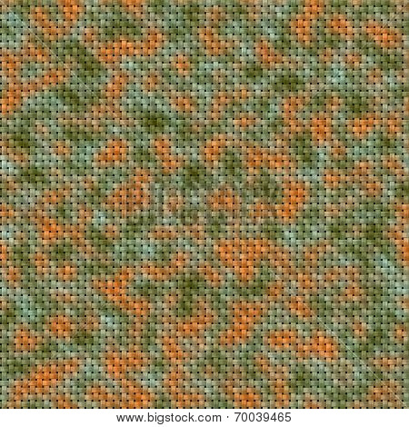 Colored military knit seamless generated texture