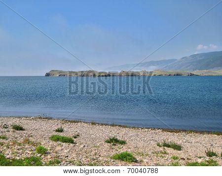 Nature Of Lake Baikal. The Lake Shore