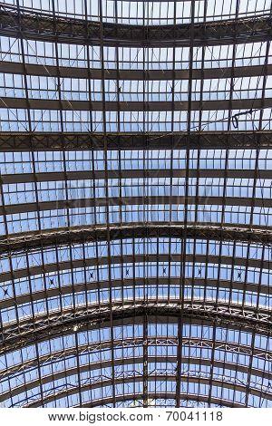 Roof Of Frankfurt's Central Station