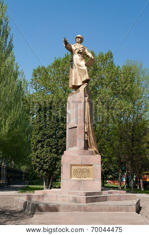 Monument To The Panfilov, General  In Bishkek