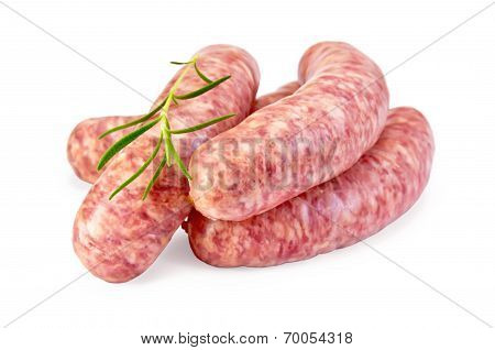 Sausages Pork With Rosemary