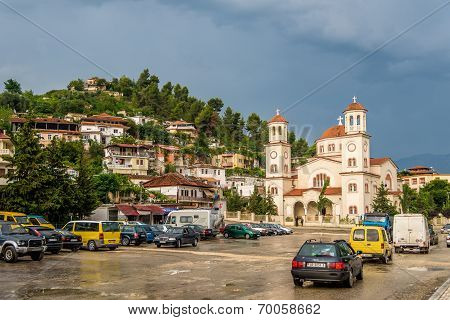 New Orthodox Cathedral Of Berat In Albania