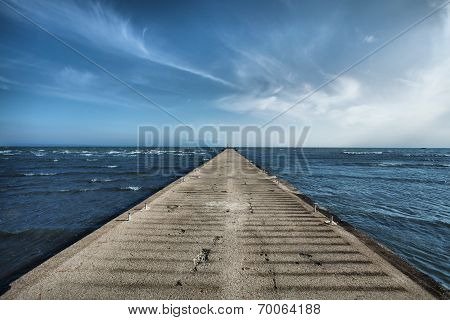 Old Concrete Pier
