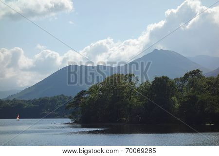 Causey Pike and Derwentwater