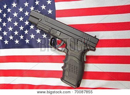 Stars & Stripes on US flag
