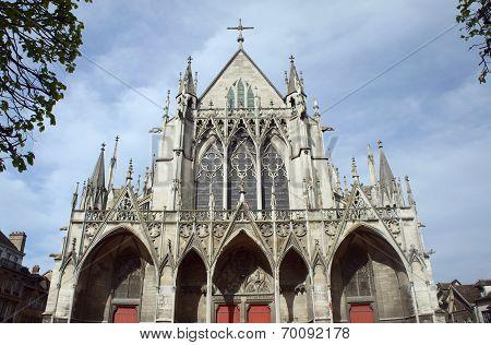 Gothic Saint-Urbain Basilica