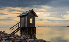 Small Cabin by the sea