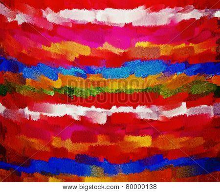 Paint Color Brush Stroke Texture Background